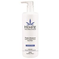 Hempz Triple Moisture Herbal Body Wash - Гель для душа тройное увлажнение 750 мл