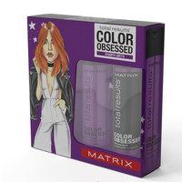Matrix Total Results Color Obsessed - Подарочный набор защита цвета (шампунь 300 мл + кондиционер 300 мл)