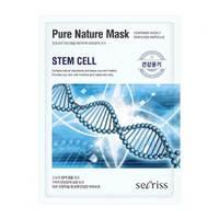 Anskin Secriss Pure Nature Mask Pack-Stem Cell - Маска для лица тканевая 25 мл