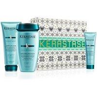 Kerastase Resistance - Новогодний набор 2020 (шампунь 250 мл, кондиционер 200 мл, молочко 150 мл)