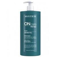 Selective On Care Densi-fill Shampoo - Шампунь филлер для ухода за поврежденными или тонкими волосами 1000 мл