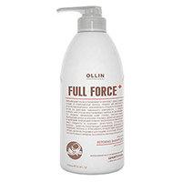 Ollin Full Force Intensive Restoring Shampoo With Coconut Oil - Интенсивный восстанавливающий шампунь с маслом кокоса 750 мл