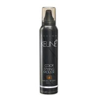 Keune Color Styling Mousse 4 Natural Brown - Цветной укладочный мусс 4 (натуральный коричневый) 125 мл