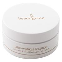 BeauuGreen Anti-Wrinkle Solution Colagen&Gold Hydrogel Eye Patch - Гидрогелевые патчи для кожи вокруг глазс коллагеном и коллоидным золотом 60*4 г