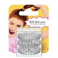 Invisibobble Original Crystal Clear - Резинка-браслет для волос с подвесом (прозрачный) 3 шт