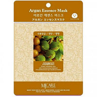 Mijin Cosmetics Essence Mask Argan - Маска тканевая аргана 23 г