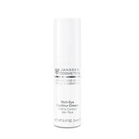 Janssen Demanding Skin Rich Eye Contour Cream - Питательный крем для кожи вокруг глаз 5 мл