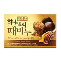 Mukunghwa Honey & Chestnut Scrub Soap - Мыло-скраб мед и каштан 100 г
