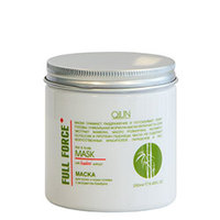 Ollin Full Force Hair & Scalp Mask Bamboo Extract - Маска для волос и кожи головы с экстрактом бамбука 250 мл