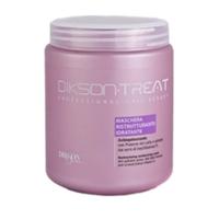 Dikson Restructuring Moisturizing Mask - Восстанавливающая увлажняющая маска для волос с витамином F 1000 мл