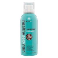Sexy Hair Healthy Soya Want Flat Hair Flat Iron Spray - Спрей для горячих щипцов 150 мл