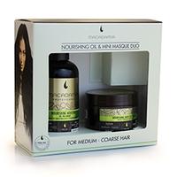 """Macadamia Nourishing Oil & Mini Masque Duo - Набор для волос """"восстановление и питание"""""""