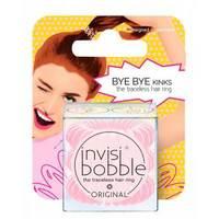 Invisibobble Original Blush Hour - Резинка-браслет для волос с подвесом (нежно-розовый) 3 шт