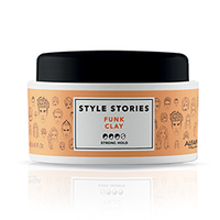 Alfaparf Style Stories Funk Clay - Глиняная паста сильной фиксации для эффекта матовых волос 100 мл