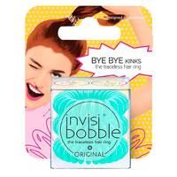 Invisibobble Original Mint To Be - Резинка-браслет для волос с подвесом (мятный) 3 шт