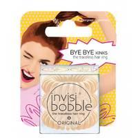 Invisibobble Original To Be Or Nude To Be - Резинка-браслет для волос с подвесом (бежевый) 3 шт