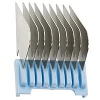 Moser - Насадка металлическая 25 мм, на машинку 1230,1400,1853-1871,1881,1854 (голубая)