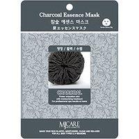 Mijin Cosmetics Essence Mask Charcoal - Маска тканевая древесный уголь 23 г