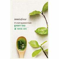 Innisfree My Real Squeeze Mask Green Tea - Маска для лица тканевая (зеленый чай) 20 мл