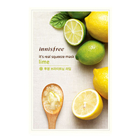 Innisfree My Real Squeeze Mask Lime - Маска для лица тканевая (лимон) 20 мл
