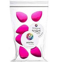 Beautyblender Original x6 + Blendercleanser Solid - Набор косметический (Спонж розовый 6 шт + мыло)