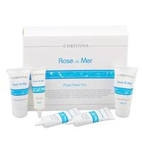 Christina Rose de Mer Post Peeling Kit - Набор «Роз де Мер» для постпилингового ухода 2*60 мл+3*30 мл