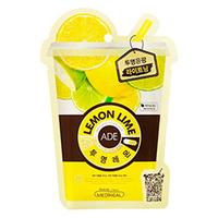 Mediheal Lemon Ade Mask - Маска для лица освежающая витаминная 25 мл