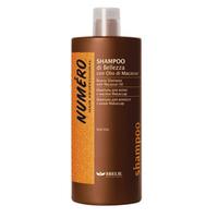 Brelil Numero Beauty Shampoo With Macassar Oil - Шампунь для красоты волос с макассаровым маслом и кератином 1000ml