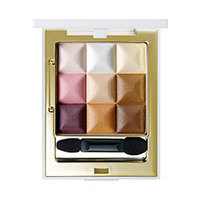 Seantree 3X3 Cube Eye Eyeshadow Color Purple Brown - Палетка теней для век тон 05 (фиолетово-коричневый) 3*10 г