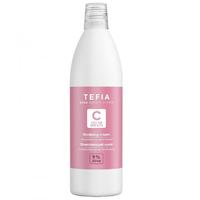 Tefia Color Creats Oxidizing Cream - Окисляющий крем с глицерином и альфа-бисабололом 9% 1000 мл