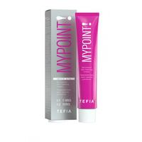 Tefia Mypoint Permanent Hair Coloring Cream - Перманентная крем-краска 10.80 экстра светлый блондин коричневый для седых волос 60 мл