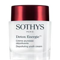 Sothys Detox Energie Depolluting Youth Cream - Омолаживающий энергонасыщающий детокс-крем 50 мл (тестер)