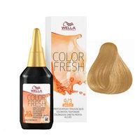 Wella Color Fresh - Оттеночная краска для волос 9/3 очень светлый блонд золотистый 75 мл
