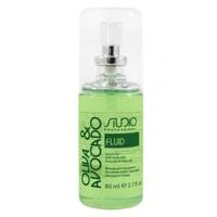 Kapous Studio Professional Olive And Avocado Serum - Флюид для секущихся кончиков волос с маслами авокадо и оливы 80 мл