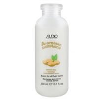 Kapous Studio Professional Aromatic Symphony Balm - Бальзам для всех типов волос «молочко миндального ореха» 350 мл