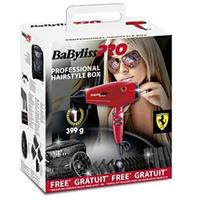 Babyliss Pro Rapido Red - Фен 2200 вт красный с набором аксессуаров