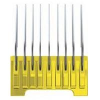 Moser - Насадка металлическая 16 мм, на машинку 1230,1400,1853-1871,1881,1854 (желтая)