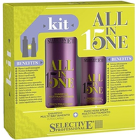 "Selective All in Kit - Набор ""с любовью"" (шампунь 250 мл + маска-спрей для всех типов волос 150 мл)"
