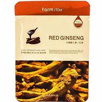Farmstay Visible Difference Mask Sheet Red Ginseng - Маска тканевая с экстрактом корня красного женьшеня 23 мл