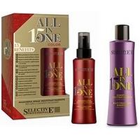 Selective All in One Color Kit  - Набор (шампунь 250 мл + маска-спрей для окрашенных волос 150 мл)