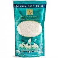 Health & Beauty Luxury Bath Salts - Соль мертвого моря для ванны (белая) 500 г