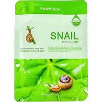 Farmstay Visible Difference Mask Sheet Snail - Маска тканевая с экстрактом улитки 23 мл