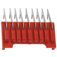 Moser - Насадка металлическая 3 мм, на машинку 1230,1400,1853-1871,1881,1854 (красная)