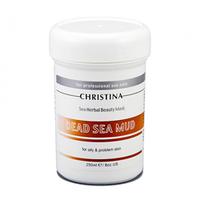 Christina Sea Herbal Beauty Dead Sea Mud Mask - Грязевая маска для жирной кожи 250 мл