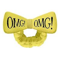 Double Dare OMG Hair Band Yellow - Бант-повязка для фиксации волос во время косметических процедур желтый