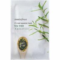 Innisfree My Real Squeeze Mask Tea Tree - Маска для лица тканевая (чайное дерево) 20 мл