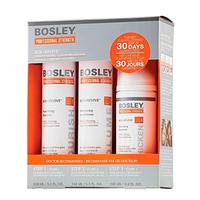 Bosley Воs Revive Starter Pack for Color-Treated Hair - Система для истонченных окрашенных волос (шампунь, кондиционер, уход) 150 мл+150 мл+ 100 мл