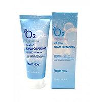 Farmstay O2 Premium Aqua Foam Cleansing - Пенка для умывания 100 мл