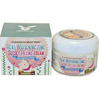 Elizavecca Milky Piggy Real Whitening Time Secret Pilling Cream - Пилинг-крем для лица осветляющий 100 г