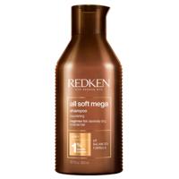 Redken All Soft Mega  Shampoo - Шампунь для очищения, питания и смягчения очень сухих и ломких волос 300 мл